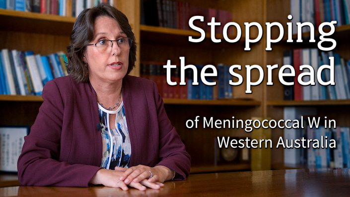 Stopping the spread (of Meningococcal W in Western Australia)
