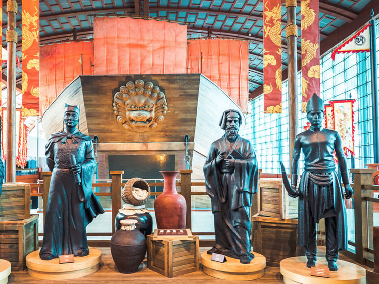 The legacy of the Silk Road includes an array of material culture