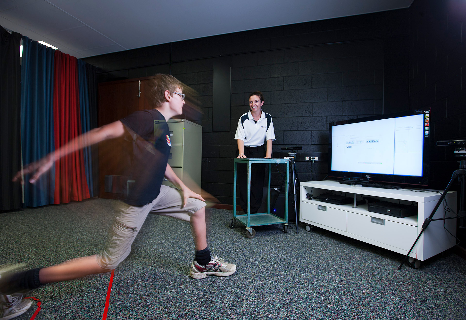 The team developed software to determine whether exergaming movements were effective
