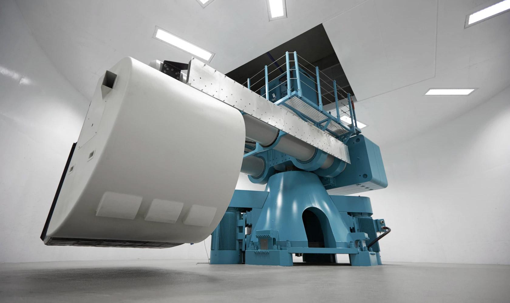 NGCF centrifuges spin on average, 270 days per year