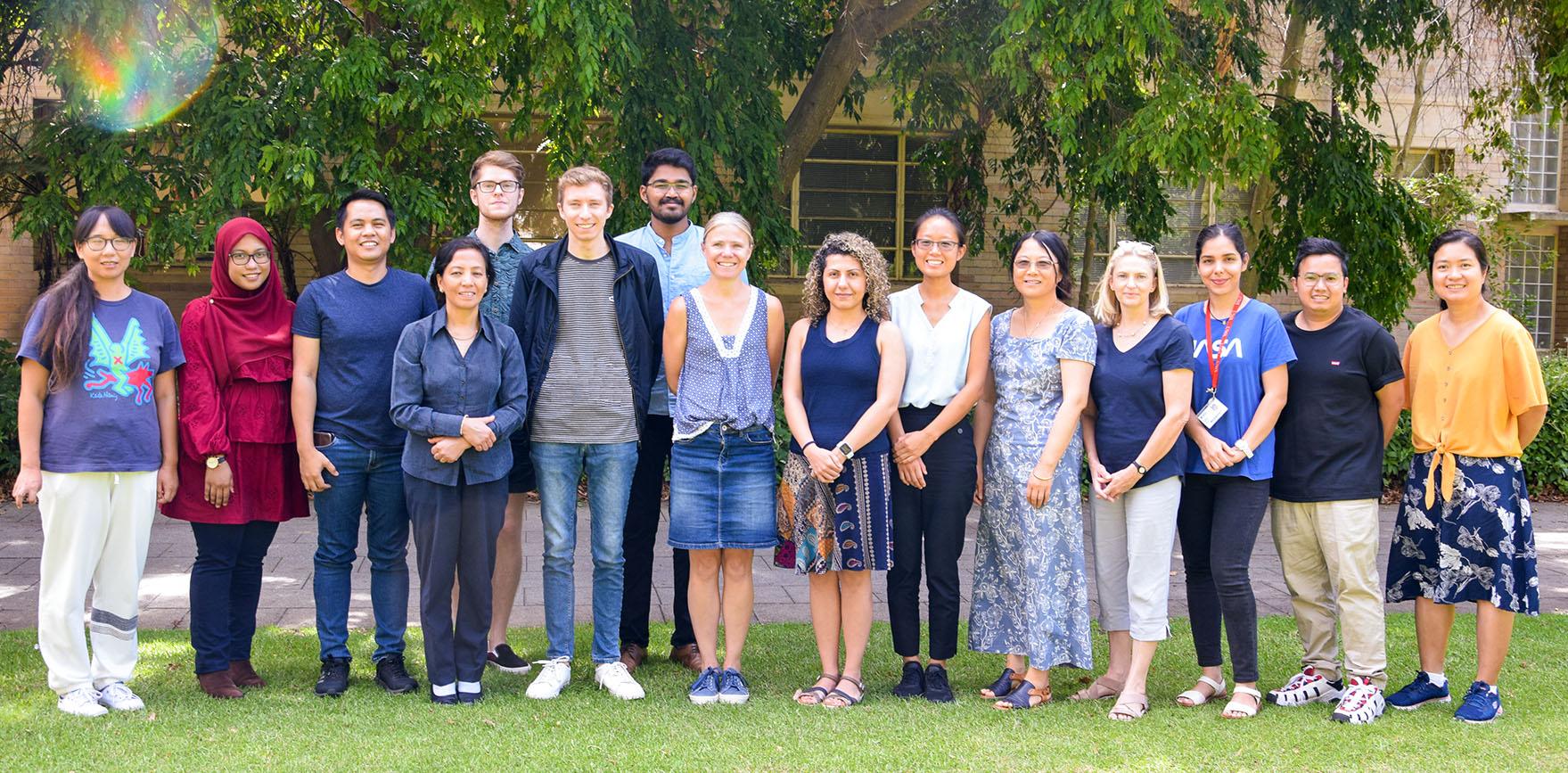 The UWA Batley Lab team